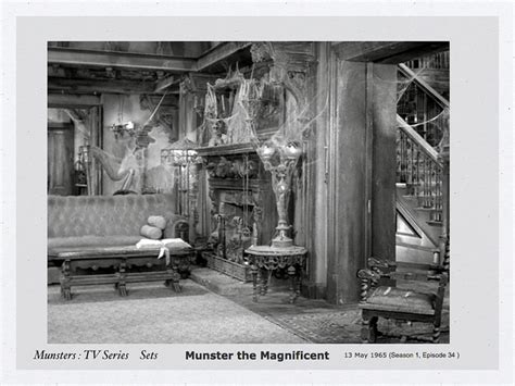 munsters living room the family vs the munsters where would you live live your