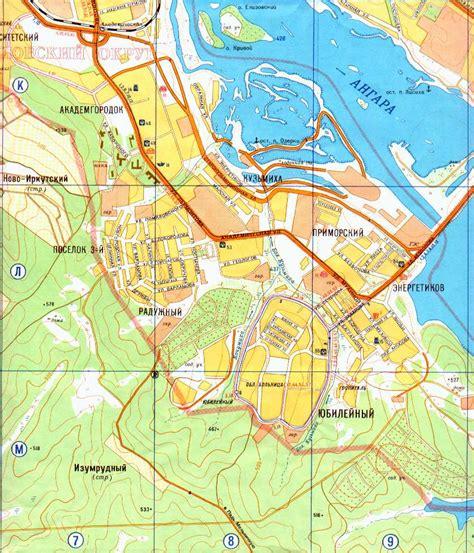 www irkutsk clickable map of irkutsk