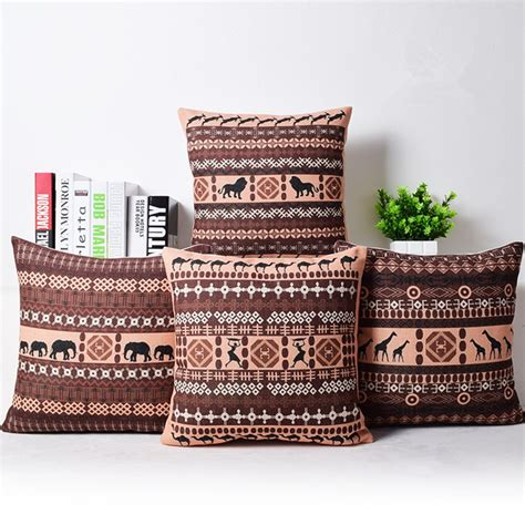 throw covers south africa bohemian style cushion cover set elephant