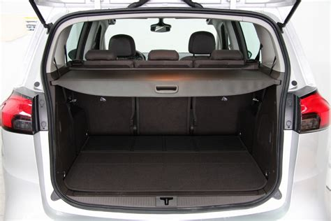 vauxhall zafira tourer boot space 28 images 2016