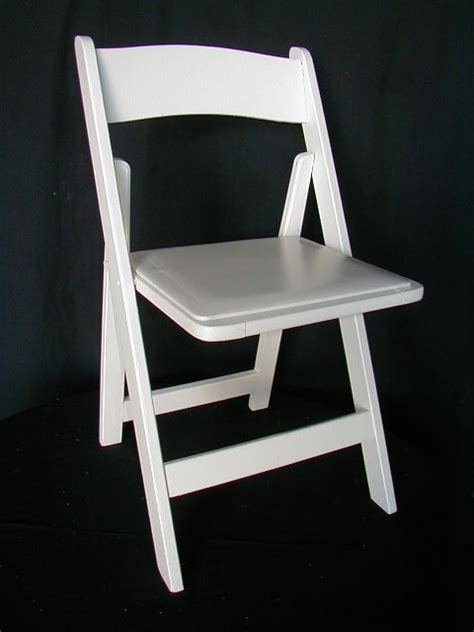 White Wood Chairs by Aabco Rents