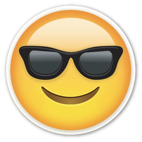emoji wallpaper png smiling face with sunglasses