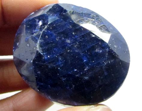 Sapphire No Heat 1 23 Cts 367 cts cert sapphire 11 624