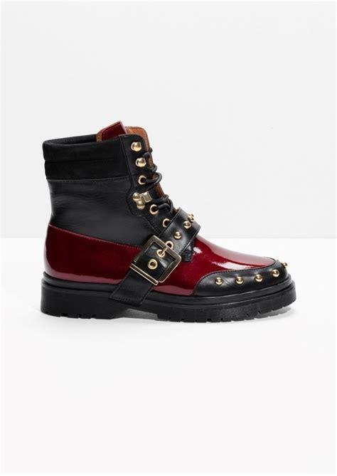 s lace up biker boots lace up leather biker boots endource