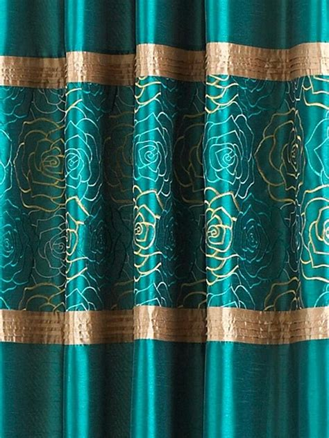 Brown And Teal Curtains Brown And Teal Curtains Teawing Co