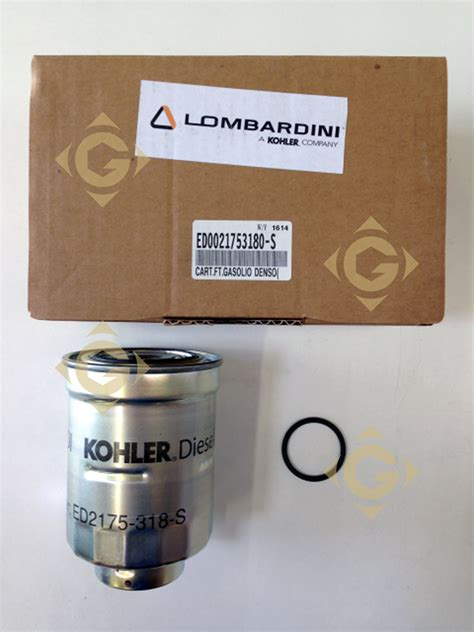 Spare Part Filter fuel filter cartridge 2175318 engines lombardini gdn