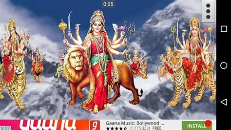 maa durga  wallpaper youtube