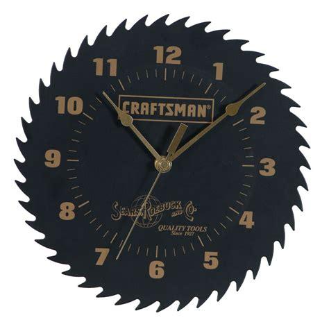 clock shop craftsman 25202 steel blade shop clock sears outlet