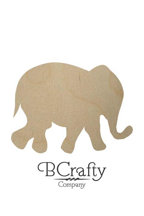 Cut Out wooden elephant cut out wooden elephant shape bcrafty