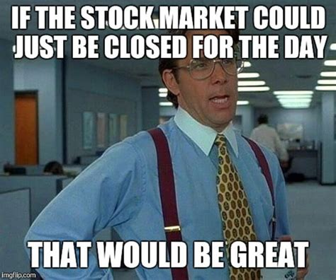Stock Market Meme - 22 funny pictures from the stock market trademetria