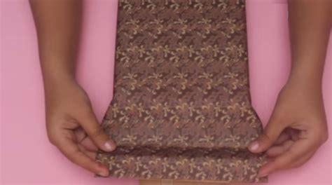 cara bungkus kado segi enam cara membungkus kado bentuk baju kemeja unik zonanya 51