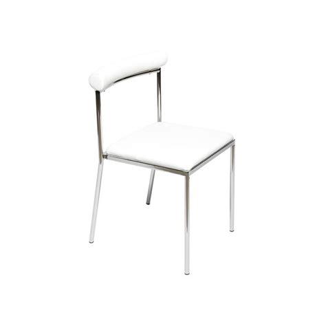 chaise de cuisine moderne lot de 4 chaises de cuisine moderne blanche l 233 va achat
