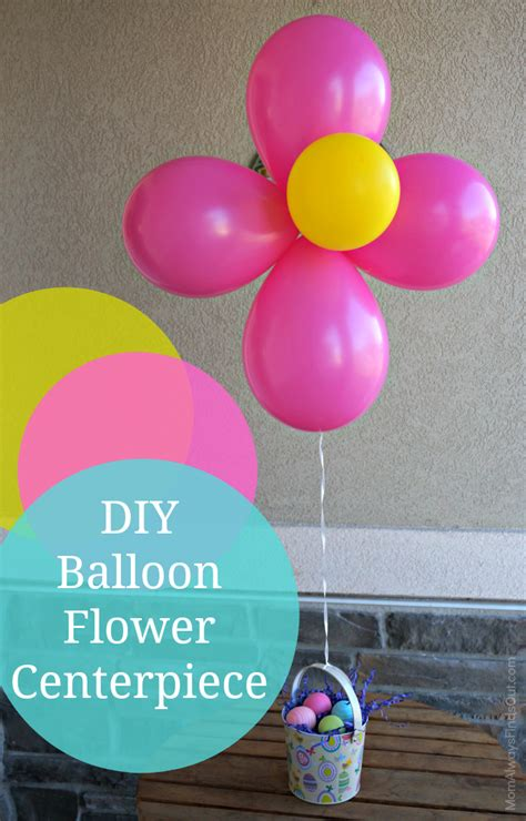 how to make centerpiece diy balloon flower centerpieces