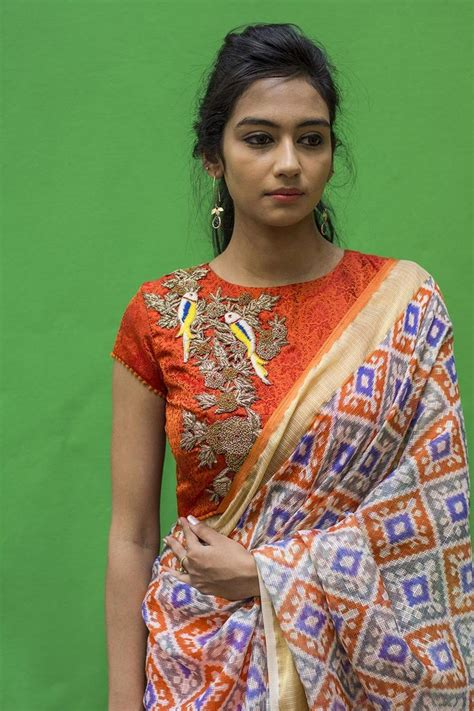 High Neck Blouse With Kerala Saree by High Neck Blouse Designs For Kerala Sarees Labzada Blouse