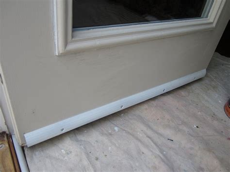 Exterior Door Drip Edge Prevent Door Bottoms From Rotting Or Rusting By Installing A Drip Edg