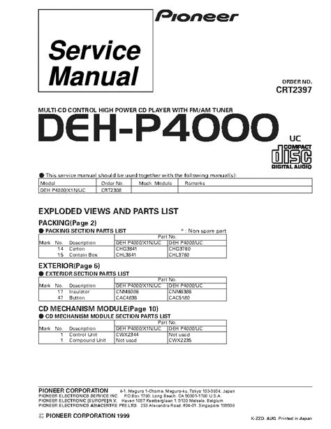 pioneer sph da02 wiring diagram 31 wiring diagram images