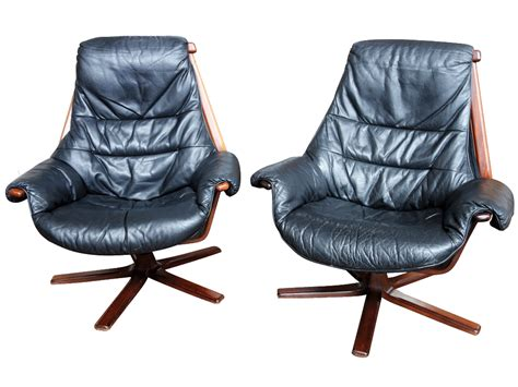 Swedish Chairs by Swedish Leather Swivel Chairs Sold Dogs Republic