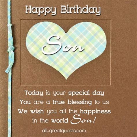 printable birthday cards for a son happy birthday cards for a son free birthday cards for