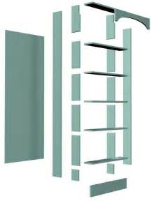 Bookcase Plans With Doors Door Bookshelf Design Diywoodplans