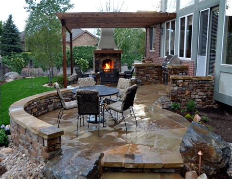 covered outdoor kitchen cost garden ideas outdoor patio designs with fireplace several