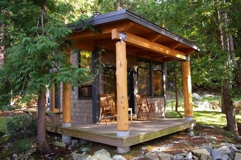 Sleeper Cabins by Sleeper Cabin Modern Garage And Shed Vancouver By