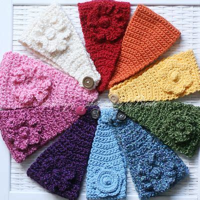 head wrap crochet pattern a rainbow rainbows and head wraps on pinterest