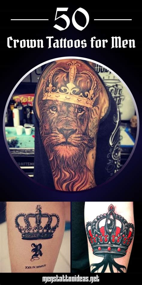 tattoos of crowns for men crown tattoos for design ideas for guys