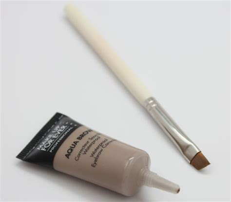 Makeup Forever Eyebrow Gel make up for aqua brow 10 swatches review vy varnish
