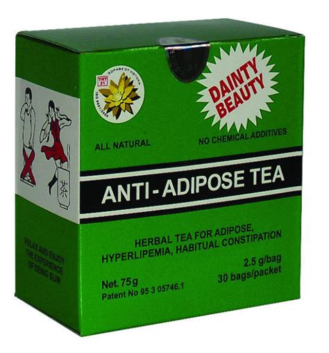 Tea Laxative Detox by Anti Adipose Tea Weight Loss Detoxifying Effect Laxative
