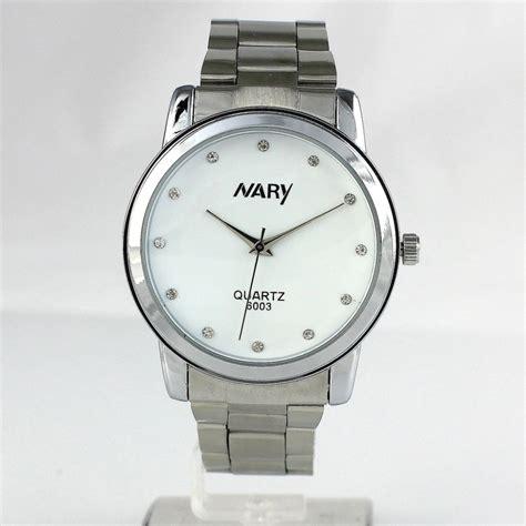 Jam Tangan Wanita Audemars Piguet Silver White nary jam tangan analog wanita stainless steel 6003 white silver jakartanotebook