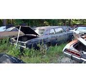 Vintage Chevy Auto Parts Yard Car