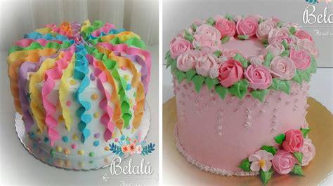 top  birthday cake decorating ideas   amazing cake decorating  youtube