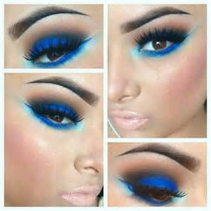 what color eyeshadow for blue azul pinados y maquillaje blue