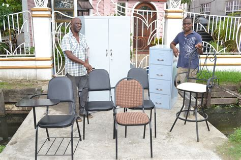 Ivor Furniture by Ivor Bunbury S Steel Pro Furniture Business Competing In A Tough Market Stabroek News