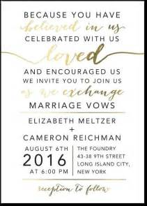 wording for wedding ceremony best 25 wedding invitation wording ideas on