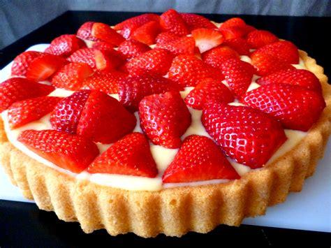 erdbeer vanillepudding kuchen erdbeer kuchen buntepfannkuchen