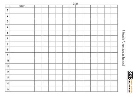 Church Attendance Sheet Template Myideasbedroom Com Church Attendance Form Template