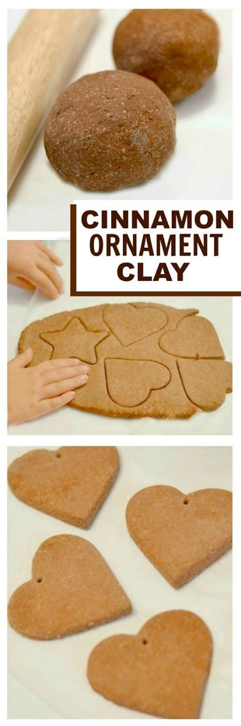 no bake cinnamon ornaments no cook cinnamon ornament clay takes 1 minute to make smells amazing crafts