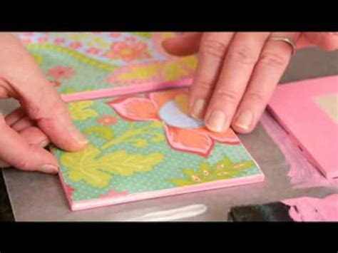 How To Make A Paper Quilt - how to make a paper quilt with scrapbook paper from plaid