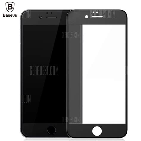 Baseus Hd Front Back Tempered Glass 3d Protector For Iphone X buy baseus frosted tempered glass pet iphone 6 6s