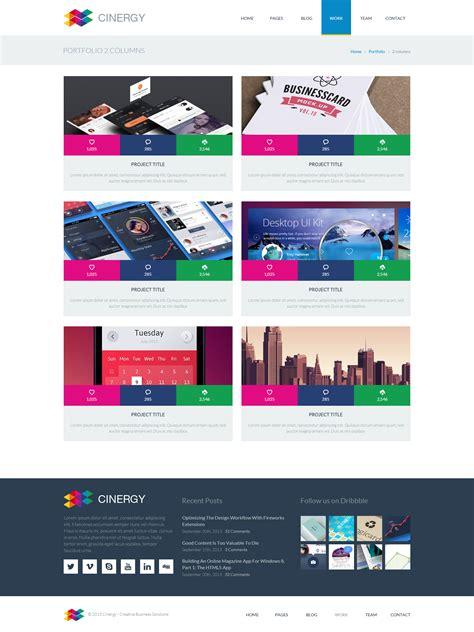 cinergy modern business wordpress theme by bigbangthemes