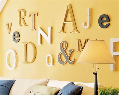 decorar paredes letras 10 originales ideas para decorar las paredes de casa