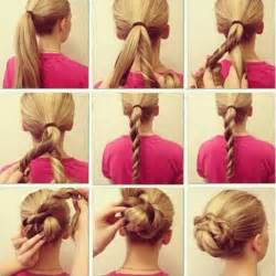 hairstyles and easy to do m step by step hairstyle ideas to do at home trendy mods com