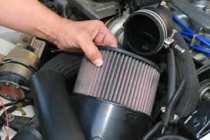replace air filter clunkbucket