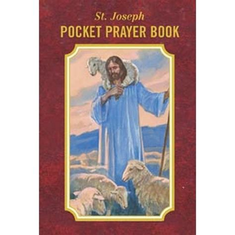 st joseph pocket prayer book the catholic company