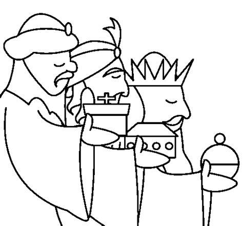 imagenes de los reyes magos para pintar dibujo de los reyes magos 3 para colorear dibujos net