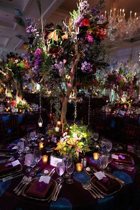 inspired   lovely enchanted forest wedding