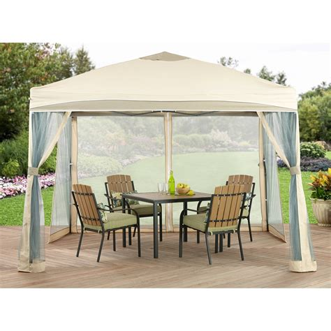 Small Gazebo With Mosquito Netting Garden Small Gazebos For Patios