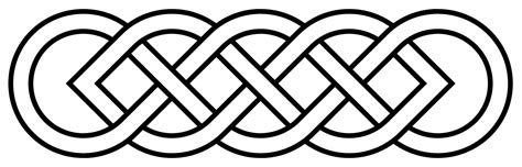 simple pattern png file celtic knot basic svg wikimedia commons