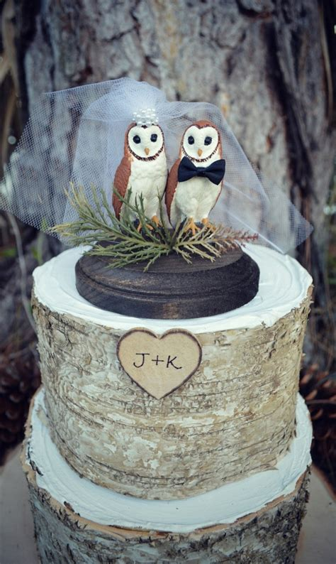 owl toppers 11 awesome cake toppers from etsy us223